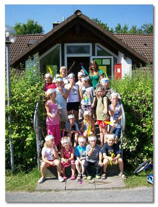 Der Holiday Club freut sich auf Euren Besuch auf dem Camping Main-Spessart Park